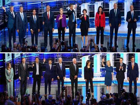 Democratic hopefuls