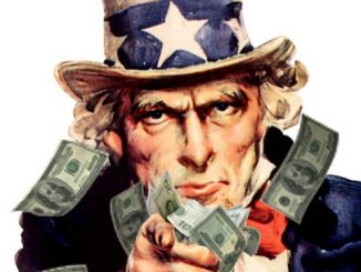uncle sam printing money for vegas election sure thing
