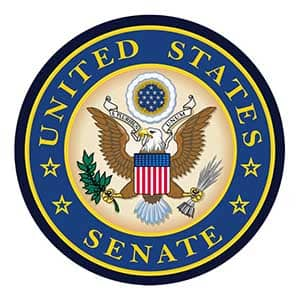 US Senate official seal