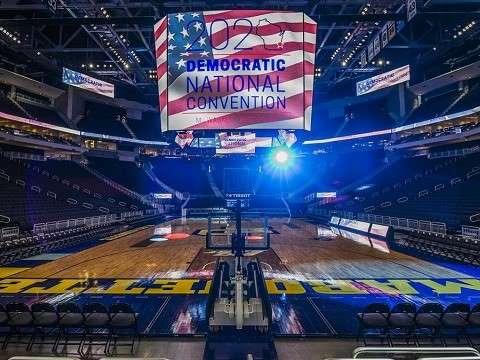 2020 democratic national convention in empty arena due to coronavirus