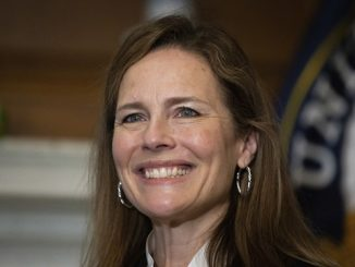 amy coney barrett smiling