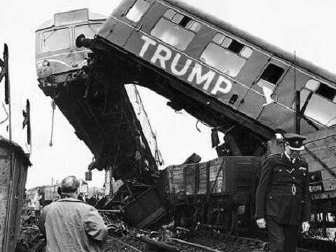 trump train derailed