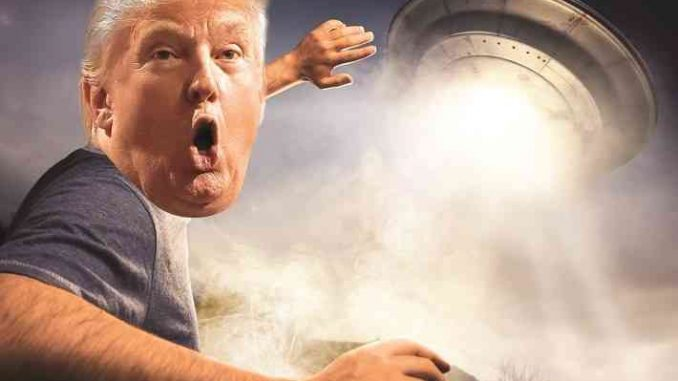donald trump ufo alien invasion