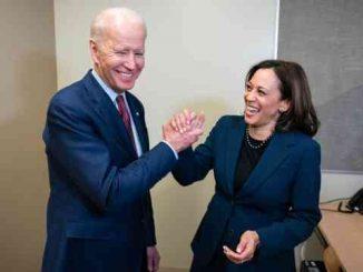 joe biden and kamala harris shaking hands