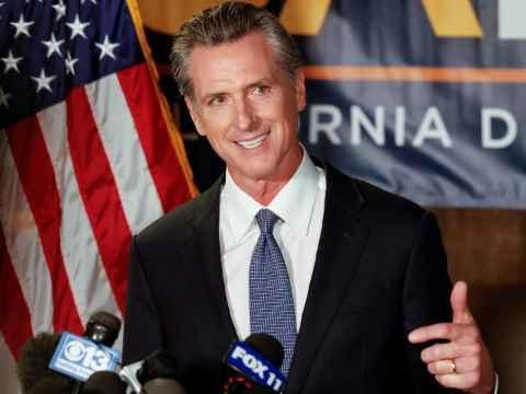 gavin newsom wins recall election
