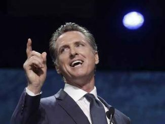gavin newsom pointing and laughing